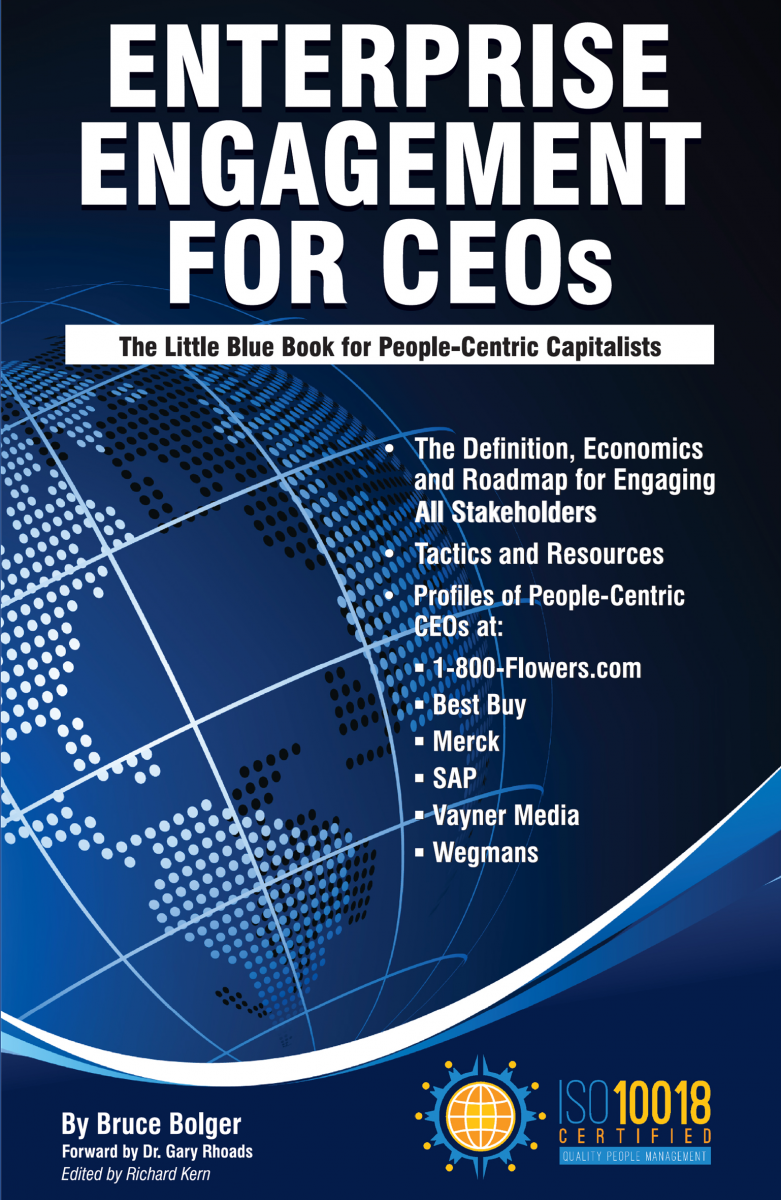A CEO's Guide to Engagement Across the Enterprise cover