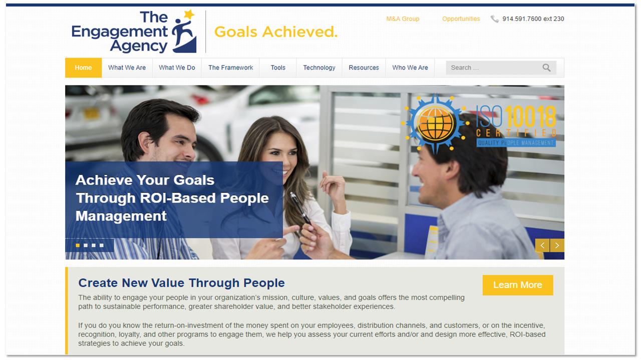 EA homepage